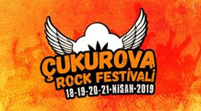 Çukurova Rock Festivali başlıyor
