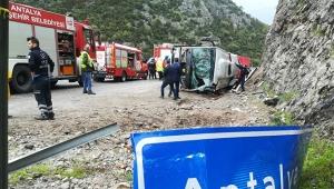 Feci kaza: 3 ölü 14 yaralı