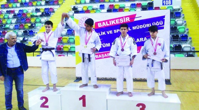 Judonun altın kızı EMİNE İKRA CANDAN