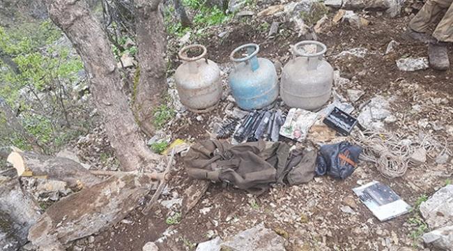 Mağarada terörist cesedi bulundu