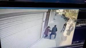 Öfkeli şahıs karı kocayı ayağından vurdu