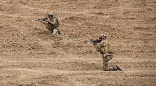 Sınır ötesinde Türk askerine saldırı