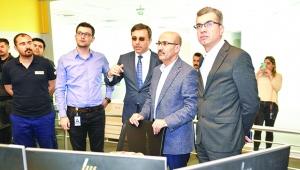 Vali Demirtaş, Enerji-SA'yı ziyaret etti