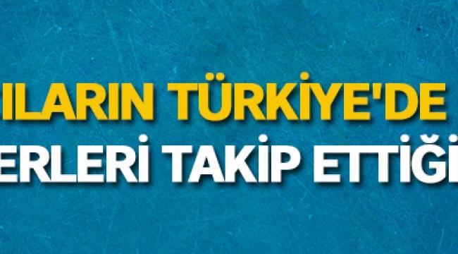 Yabancıların Türkiye'de en çok hangi haberleri takip ettiği açıklandı