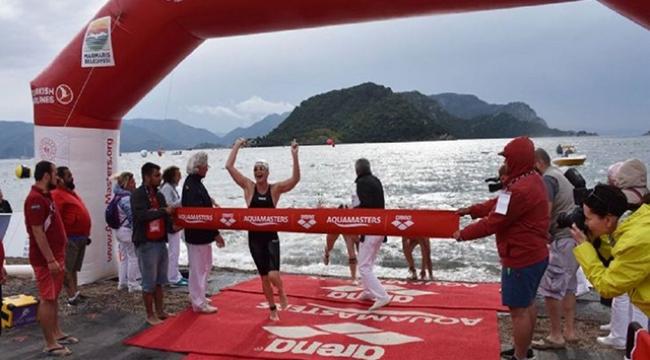 40 yaşındaki eski milli sporcu, birinciliğe giden 13 yaşındaki çocuğu itti