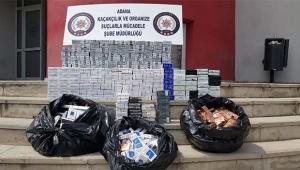 5 bin 490 paket kaçak sigara ele geçirildi
