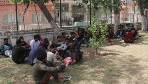 57 kaçak göçmen Adana'da yakalandı