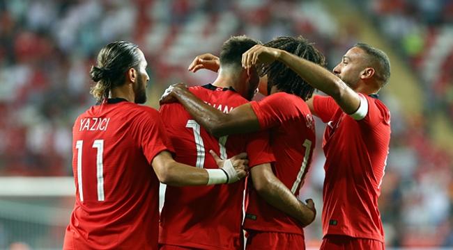 A Millilerden iyi prova :Türkiye 2-Yunanistan 1