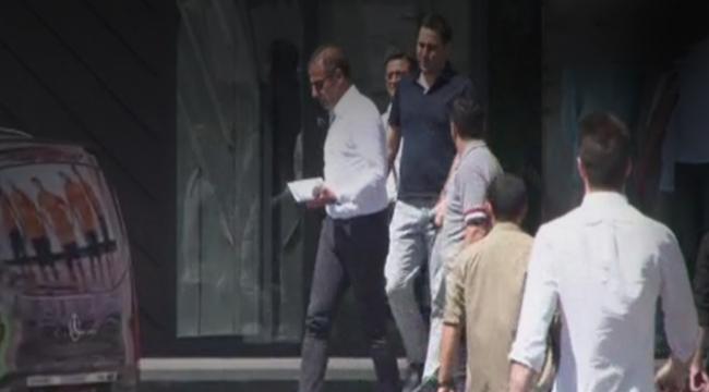 Abdullah Avcı, Başakşehir kulüp binasından ayrıldı