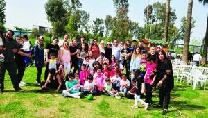 Burcu Deniz Özel Eğitim Merkezi'nden bahara merhaba partisi
