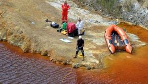 Gölde valiz içerisinde iki ceset bulundu