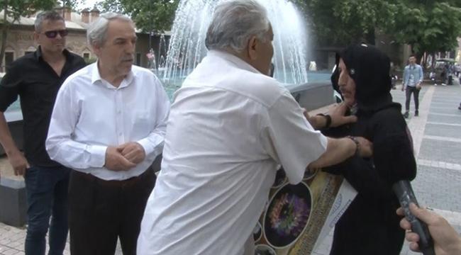 Kadınlara şiddeti protesto eden tiyatrocu saldırıya uğradı