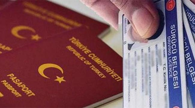 Kimlik ehliyet pasaport işlemlerinde yeni dönem