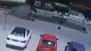 Korkunç motor kazasının görüntüleri ortaya çıktı