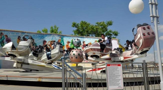 Lunapark eğlence tesisleri bayrama hazırlanıyor