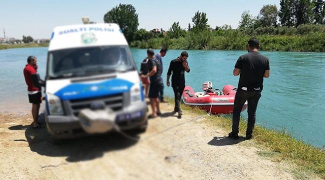 Nehirde erkek cesedi bulundu