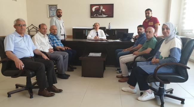 Seyhan İlçe Milli Eğitim Müdürü Aydın'a ziyaret