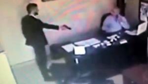 Silahlı kavga güvenlik kameralarına yansıdı