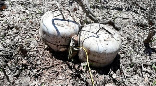 Terör örgütü sığınağında 60 kilo patlayıcı imha edildi