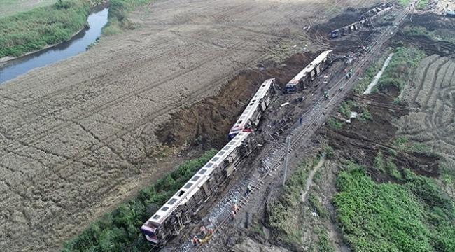 Tren kazasında çocuklarını kaybeden ailelere pes dedirten telkin