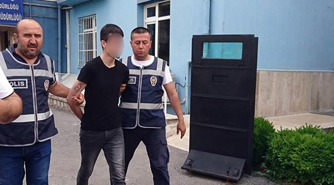 25 yıl hapis cezası bulunan şahıs dolmuşta yakalandı