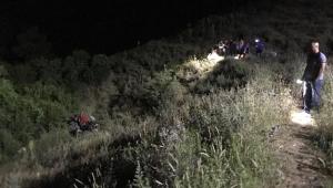 70 metre yükseklikten traktörle uçan adam hayatını kaybetti