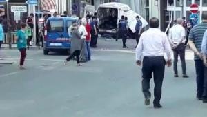 Dur ihtarına uymayan araç kaza yaptı 10 ölü