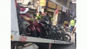 Emniyetten motosiklet uygulaması