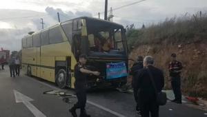 Feci otobüs kazası: 4 ölü, 42 yaralı