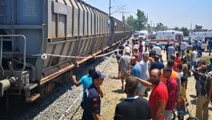 Feci tren kazası: 1 ölü, 4 yaralı