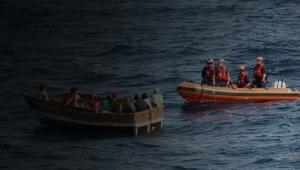 Göçmen teknesi battı: 7 kişi öldü