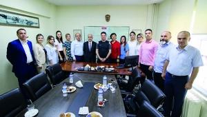 Güney Adana Kalkınma Programı Ekibi'nden Ataşbak'a ziyaret