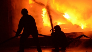 Kibrit fabrikasında yangın: 30 ölü