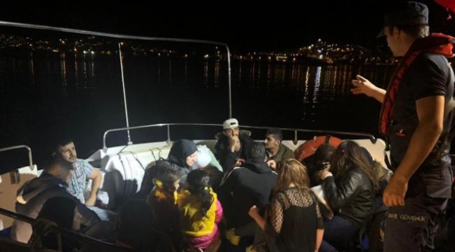 Lüks yatı çalıp Yunanistan'a kaçmaya çalıştılar