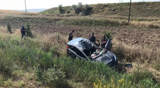Otomobil takla attı: 2'si ağır, 6 yaralı