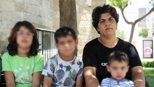 Şiddet mağduru kadın 3 çocuğuyla sokakta yaşıyor