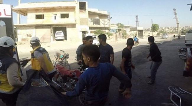 Sınır ötesinde bombalı saldırı 8 sivil öldü