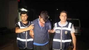 Uyuşturucu kullanıp polisi bıçakladı