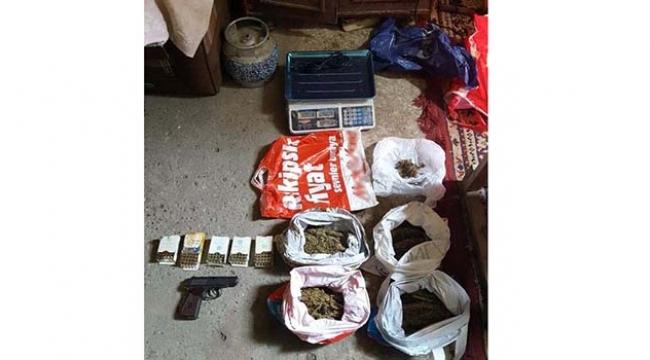 Uyuşturucu operasyonuna 2 tutuklama