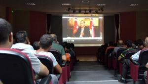 15 Temmuz belgeseli hükümlüleri duygulandırdı