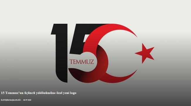 15 Temmuz'un üçüncü yıldönümüne özel yeni logo