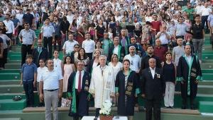 700 öğretmen Çukurova Üniversitesi'nden mezun oldu