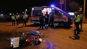 Adana'da feci kaza: 1 ölü