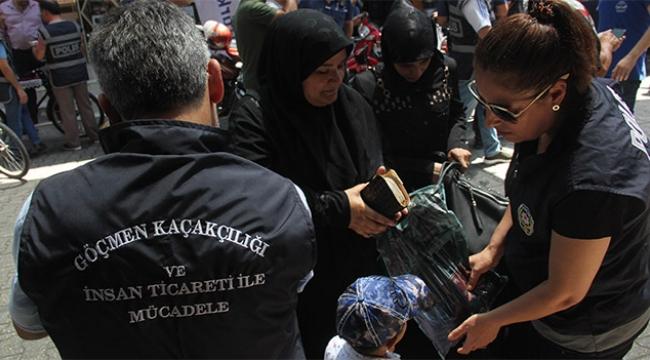 Adana'da Suriyelilere özel harekatlı uygulama