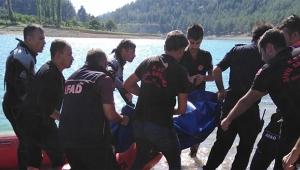 Baraj göletine giren genç boğularak can verdi