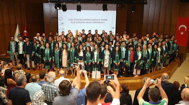 ÇÜ BESYO mezunlarını uğurladı