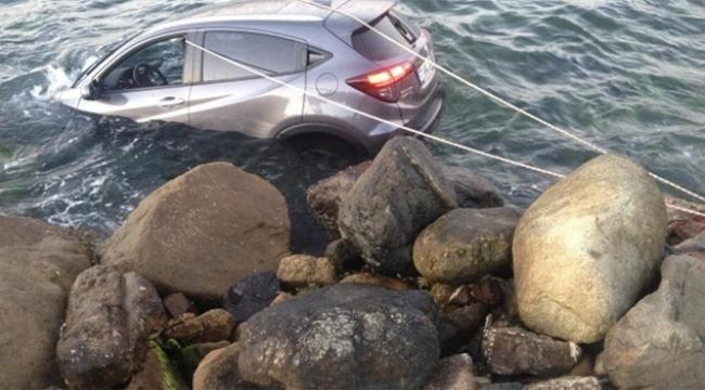 Denizi izlerken kendilerini denizde buldular