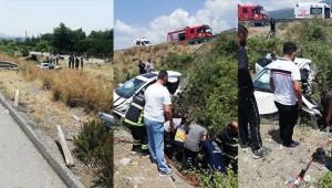 Feci trafik kazası: 3 ölü 2 yaralı