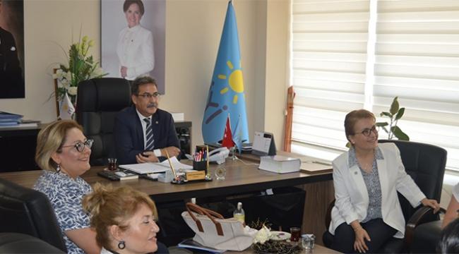 İYİ Parti, Yanıkömeroğlu'nu ağırladı