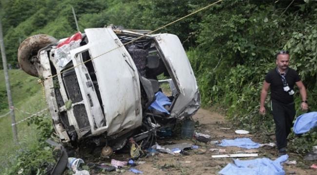 Kazada 6 kişi hayatını kaybetmişti şöför tutuklandı